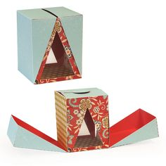 Samantha Walker's Imaginary World: Silhouette Tutorial--Triangle Surprise box! (includes copy and paste directions)
