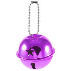 Amico Star Pattern 50mm Dia Ring Bell Ornament Light Purple for Christmas Tree Amico,http://www.amazon.com/dp/B00DN5M9YY/ref=cm_sw_r_pi_dp_fJUDsb0DXPWQBQXG