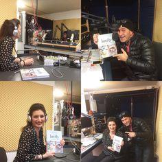 """Radio RaBe Buchvorstellung, November 2015 """"lovely - Backen und Dekorieren mit Herz"""""""
