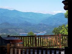 Big Timber Lodge - Unforgettable View of the Mountains and Fontana Lake from this Upscale Cabin with Outdoor Fireplace, Hot Tub, - Almond vacation rentals Bryson City Cabin Rentals, Lake House Rentals, North Carolina Cabins, North Carolina Vacation Rentals, Carolina Usa, Fontana Lake, Luxury Cabin, Just In Case, Places To Go