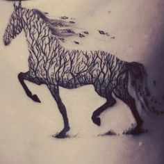 #horse #love #horsetattoo #forsetatoo