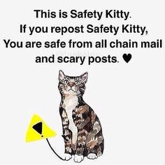 Instagram photo by gabedagamer - Repost if you don't want scary posts /:-) #safetycat