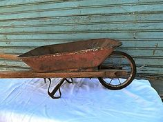 Vintage Antique Child's Wheelbarrow