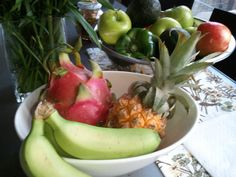 Dragon Fruit and Baby Pineapple