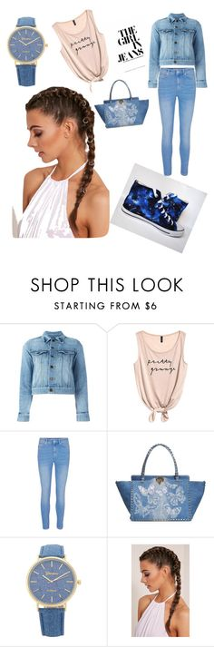 """""""Untitled #12"""" by namka88 ❤ liked on Polyvore featuring Yves Saint Laurent and Valentino"""