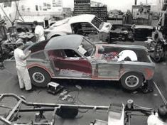 Vintage Cars Muscle Making of a A/FX Mustang back in the day Ford Mustang History, 66 Ford Mustang, Mustang Fastback, Mustang Cars, Ford V8, Ford Mustangs, Vintage Mustang, Nhra Drag Racing, Ford Classic Cars