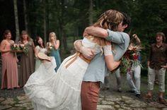 Bohemian Barn Wedding: Grace + Andrew