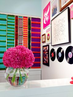 MIMI+MEG: kate spade new york — arlington launch party Interior Design Inspiration, Color Inspiration, So Little Time, Flower Power, Interior And Exterior, Color Pop, Kate Spade, Gallery Wall, Product Launch