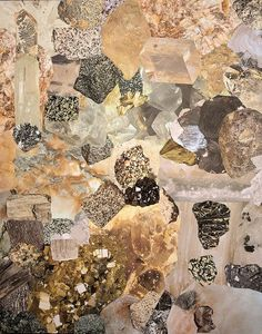 collage of crystals and semiprecious rocks by Instant Facelift