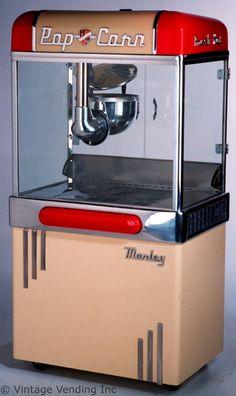 1940s Manley Popcorn Machine.