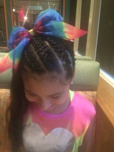 """She said this is her """"Love Wins Cheer Bow"""""""