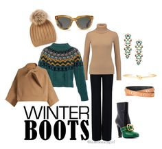"""""""Winter Boots"""" by luxebeautygirl on Polyvore featuring STELLA McCARTNEY, Agnona, Temperley London, Stella & Dot, Chloé, contest, MyStyle, fashionset, winterboots and influencer"""