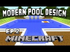 http://minecraftstream.com/minecraft-tutorials/minecraft-tutorial-how-to-build-a-modern-swimming-pool-house-building-project-part-31/ - Minecraft Tutorial: How To Build A Modern Swimming Pool  (House Building Project Part 31)  Well hello there, GoodTimesWithScar here bringing you a Super Awesome Minecraft Episode.  In this new series of video tutorial guides we build an awesome Minecraft house in scarland.  This house will have a living room, kitchen, dining room, bedrooms,
