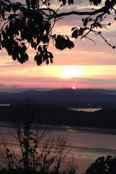Alabama sunset via James Spann- August 7, 2013