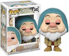Disney - Snow White and the Seven Dwarfs - Sleepy Pop! Funko Pop Figures, Pop Vinyl Figures, Funko Pop Dolls, Funko Toys, Mickey Mouse Toys, Sleepy, Pop Figurine, Funk Pop, Disney Pop