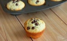 Chocolate Chip Muffins. Straight from the oven when the chocolate is still melted and warm, mmmm #MeltYourHeart