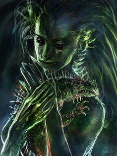 Farore, Goddess of Courage   by Kirsi Salonen