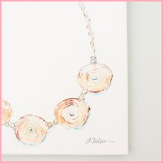 Juler's Row on Lavin Label   Jewelry Rendering Prints in Watercolor on Canvas, available through Etsy!