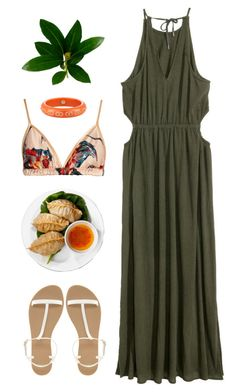 """Lunch Date & Dumplings"" by snorkfroeken ❤ liked on Polyvore featuring ASOS, Mark Davis and Katie Eary"