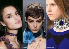 Spring/ Summer 2016 Jewelry Trends: Chokers  #trends #accessories #jewelry