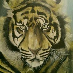 Oil on canvas 60 x60
