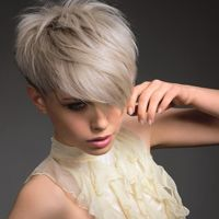 Ashley Gamble's Overload collection textured blonde - short hairstyles from ghd http://pinterest.com/toscahairbeauty/ www.toscasalon.com  https://www.facebook.com/ToscaHairAndBeauty#!/ToscaHairAndBeauty