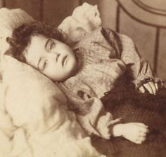 CABINET CARD Pre or Post Mortem 'Eyes Open' Portrait Victorian Photo EAST LONDON   Collectables, Photographic Images, Antique (Pre-1940)   eBay!