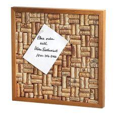 Celine Wine Cork Board Frame ça doit etre faisable !