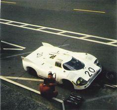 Porsche 917/20 001  1971 Le Mans Test Day.  'Pink Pig' test car, before the famous paint job.