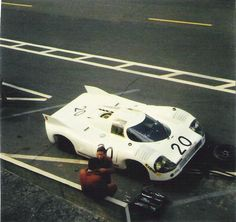 Porsche 917/20 001  1971 Le Mans Test Day
