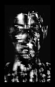 Laurence Demaison S'ombrer, visage, n°2 2008/2009 100 x 65 cm Gelatin silver print Editon of 7