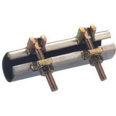 Mueller Industries 1 2x3 Ss Repair Clamp 160 607 Plumbing Tools