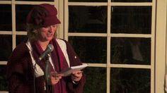 Sneldichtkunstenaar Pauline Meijwaard leest het allomvattend gedicht van het inspiratiePodium Arnhem #11