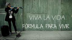 VIVA LA VIDA (Coldplay)💿 en VIOLIN ELECTRICO!!.. con frases motivacional...