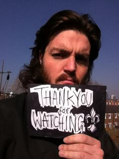 """Thank you for watching"" - #TomBurke, #TheMusketeers"