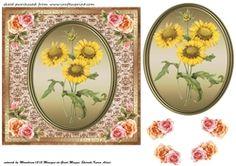 Floral Plaque Card Front 5