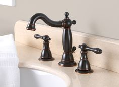Charlestown Widespread Bathroom Faucet with Two Handles