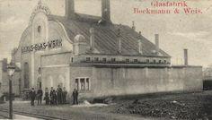 """""""Glasfabrik Beckmann & Weis 1907 Ausschnitt"""" Art Nouveau, Art Deco, Taj Mahal, Cameo, Building, Glass, German, Travel, Drinkware"""