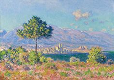 View of Antibes from the Plateau Notre-Dame - Claude Monet Paintings detailsshare play Search BoxSearch query Antibes, Claude Monet, Pierre Auguste Renoir, Jean Antoine Watteau, Monet Paintings, Impressionist Paintings, Oil Painting Reproductions, Museum Of Fine Arts, Oeuvre D'art