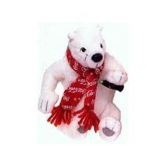 Coca Cola Polar Bear In Red Coca Cola Snowflake Scarf Bean Bag Plush-World Of Coca Cola Exclusive #0159 (Toy) http://www.amazon.com/dp/B003VG03ZM/?tag=dismp4pla-20
