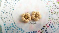 Fiore margherita ciondolo pendente fimo dolci materiale bigiotteria decoden abbellimenti , by Evangela Fairy Jewelry, 1,30 € su misshobby.com