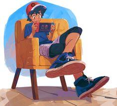 Ash And Misty, Pokemon Ash And Serena, Ash Pokemon, Ash Ketchum, Pokemon Pictures, Super Smash Bros, Sword, Tv Series, Cool Pictures