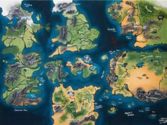 A Map of Westeros  #gameofthrones #asoiaf #quotes