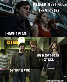 Harry Potter....lol!