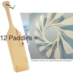 Show Stopping Oar Paddle Mirror: http://www.completely-coastal.com/2016/03/oar-paddle-mirror.html Can you pull this off?
