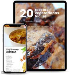 Tortitas de zanahoria y calabacín - Tasty details Healthy Meal Prep, Healthy Recipes, Deli, Cooking Tips, Risotto, Vegetarian, Bread, Breakfast, Image