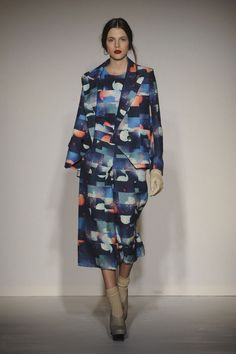 LOVE Basso & Brooke A/W 2012. They know how to do a print!