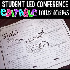 Create a lotus chart for student led conferences so students and parents can easily make their way around the classroom. Great for parent teacher conferences too! Classroom Organization, Classroom Management, Classroom Ideas, Classroom Resources, Classroom Routines, Classroom Projects, Class Management, Kindergarten Classroom, Student Led Conferences