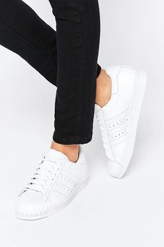 White Superstar With Pearl Metal Toe Cap - Poor Little It Girl Weekly Weakness