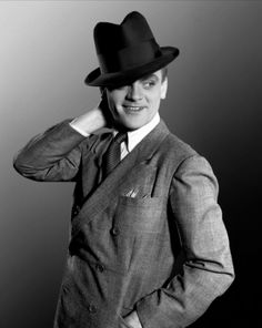 """oldhollywoodfilms: """"  """"Learn your lines, find your mark, look 'em in the eye and tell 'em the truth,"""" acting advice from James Cagney, who was born July 17, 1899, in New York City. """""""